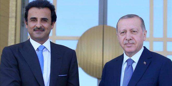 """Erdoğan: """"Katar ile ilişkilerimiz güçlenecek"""""""