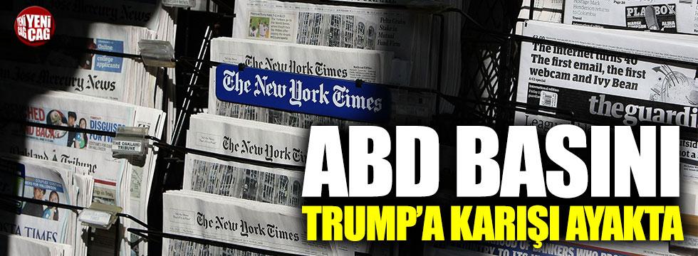 ABD basınında Trump'a karşı kampanya