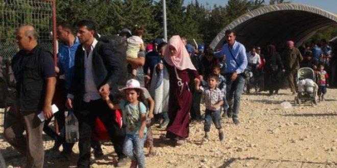 Bayram için Suriye'ye gidenlerin sayısı 27 bini geçti