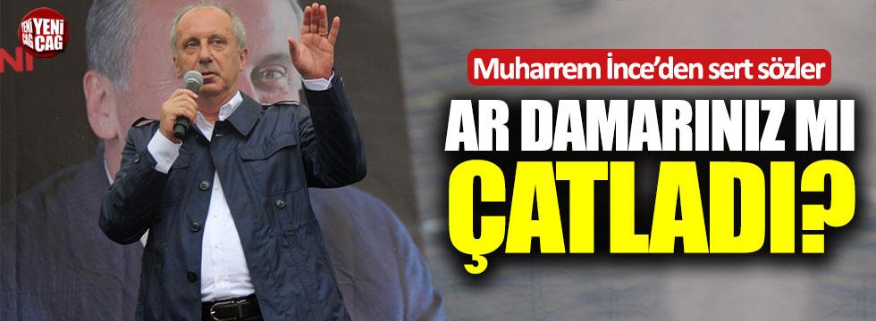 Muharrem İnce'den AKP'ye sert sözler