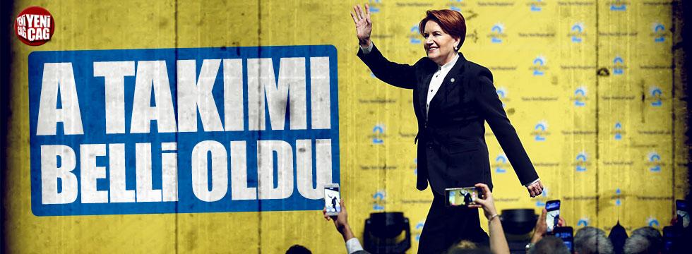 İYİ Parti'de Başkanlık Divanı belli oldu
