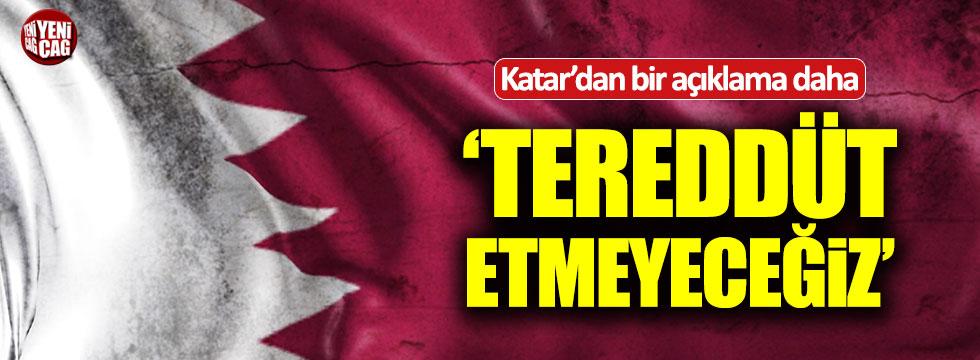 Katar Büyükelçisi Al Şafi'den Türkiye açıklaması