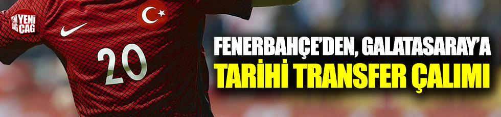 Fenerbahçe'den, Galatasaray'a tarihi çalım