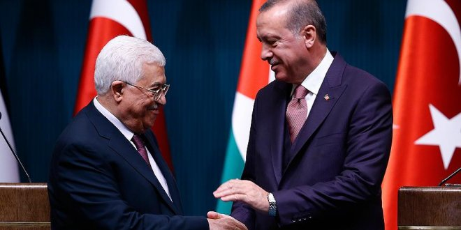 Erdoğan, Mahmud Abbas ile telefonda görüştü