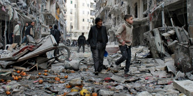 Savaşlarda ölen her 4 kişiden 3'ü sivil