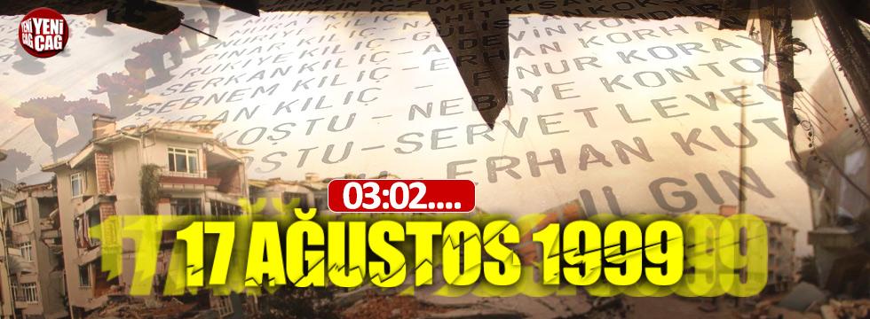 17 Ağustos Marmara Depremi'nde yaşamını yitirenler anıldı