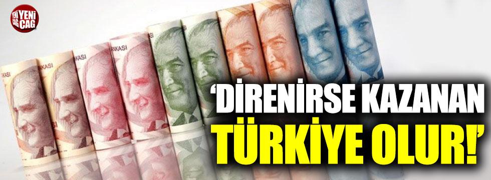 """Öymen: """"Direnirse kazanan yine Türkiye olur"""""""