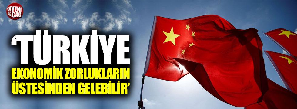 """""""Türkiye, ekonomik zorlukların üstesinden gelebilir"""""""