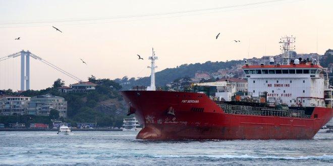 İstanbul Boğazı'nda korku dolu anlar