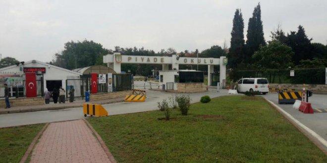 Tuzla Piyade Okulu'nda FETÖ operasyonu