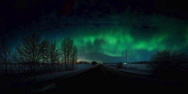 NASA uzaydan Kuzey Işıkları'nı gösterdi