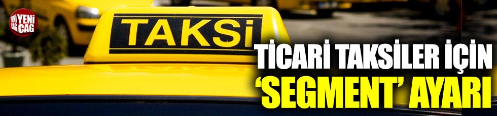 Ticari taksiler için yeni karar