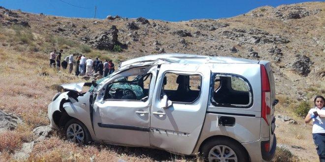 Polis memuru kazada öldü, arkadaşı yaralı