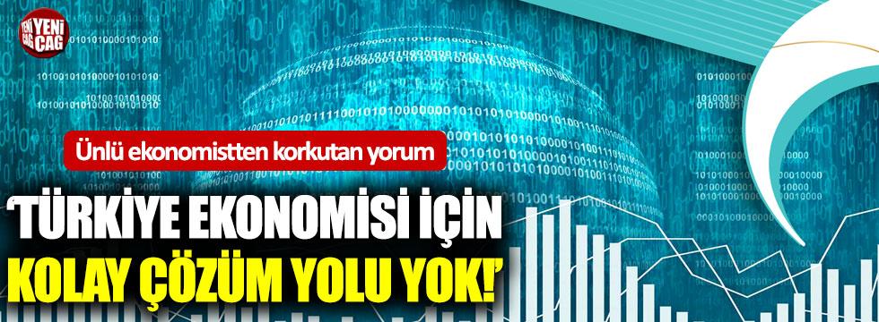 Ünlü ekonomistten korkutan Türkiye yorumu!