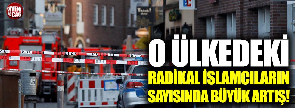 O ülkedeki radikal İslamcıların sayısında büyük artış!