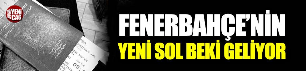 Fenerbahçe'nin yeni sol beki İstanbul'a geliyor
