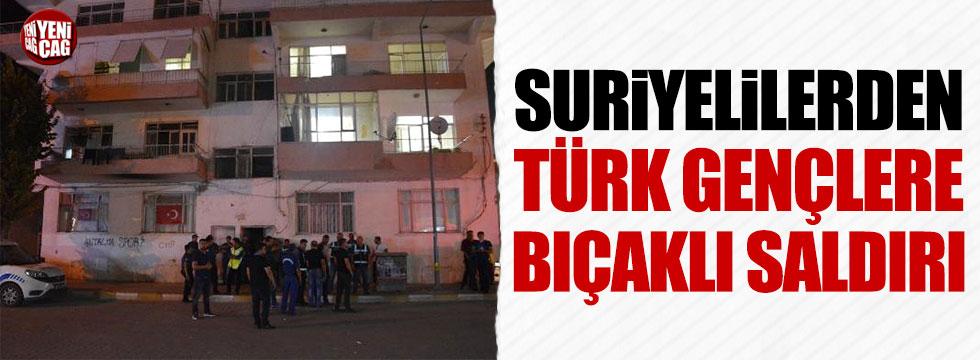 Suriyelilerden Türk gençlerine bıçaklı saldırı