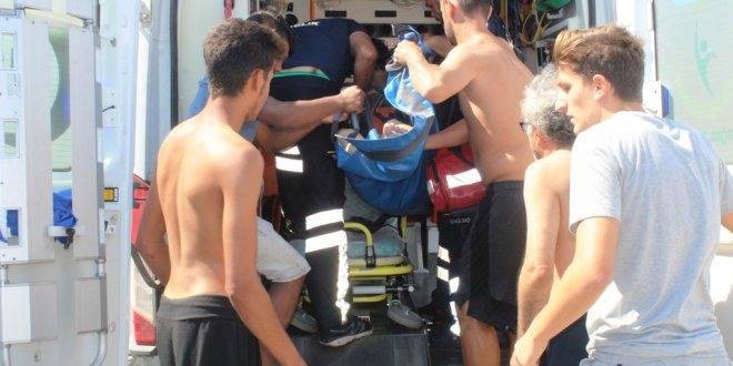 80 yaşındaki kadın denizde boğuldu