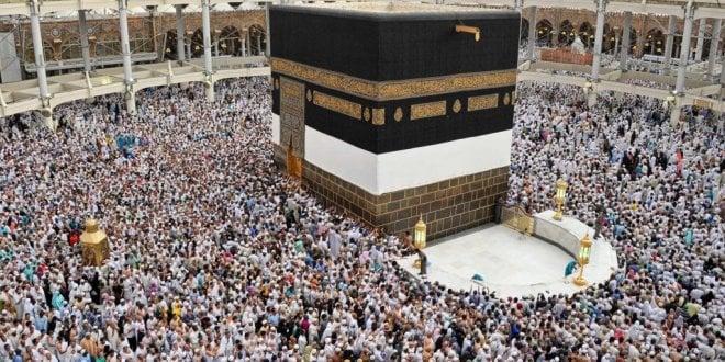 İki milyondan fazla hacı adayı Mekke'de