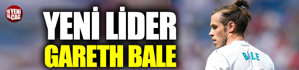 Yeni lider Gareth Bale