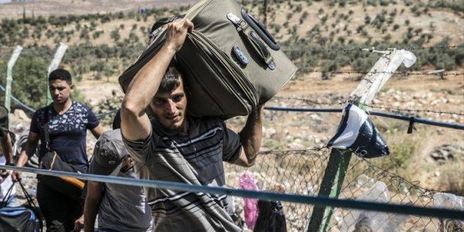 47 bin Suriyeli bayrama gitti!
