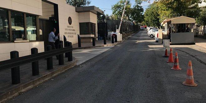 ABD'nin Ankara Büyükelçiliği'ne saldırı