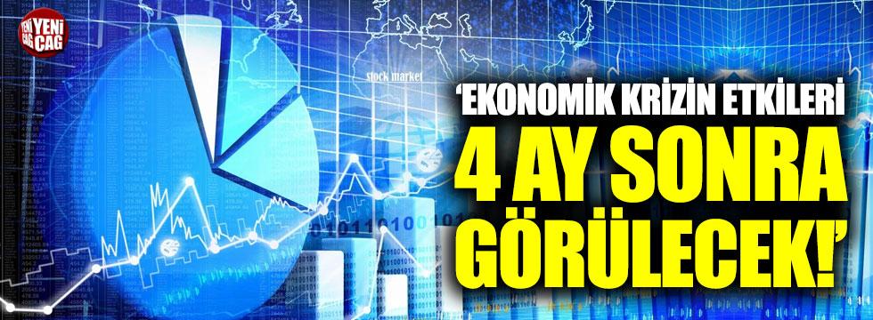 """CHP'li Gürer: """"Ekonomik krizin etkisi 4 ay sonra görülecek"""""""