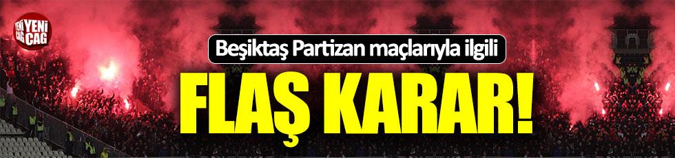 Partizan Beşiktaş maçlarında konuk takım taraftarı alınmayacak