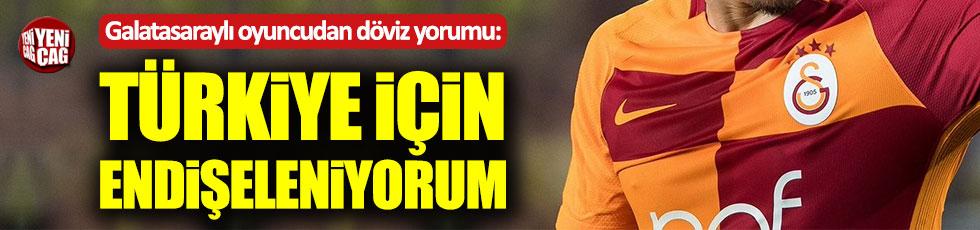 Nagatomo'dan döviz yorumu: Türkiye için endişeleniyorum