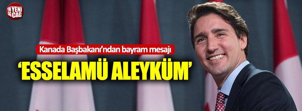 Kanada Başbakanı'ndan Kurban Bayramı mesajı