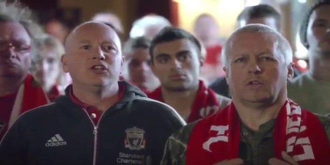 """Liverpool taraftarından: """"Bir şarkısın sen..."""""""
