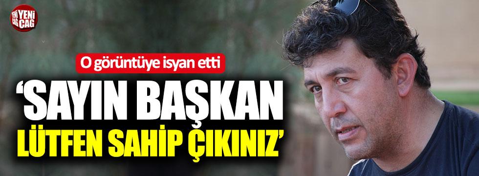 """Emre Kınay o görüntüye isyan etti: """"Sayın Başkan sahip çıkınız"""""""