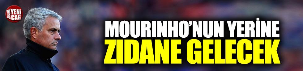 Mourinho'nun yerine Zidane