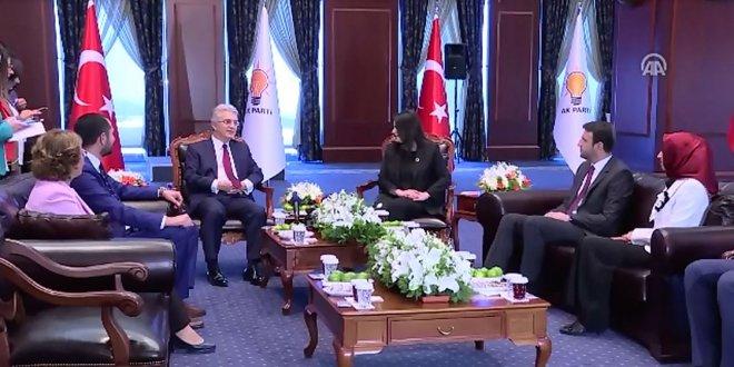 CHP ve MHP'den AKP'ye bayram ziyareti