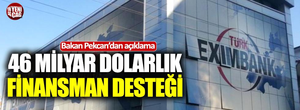 """Pekcan: """"Eximbank ihracatçıya nefes aldıracak"""""""