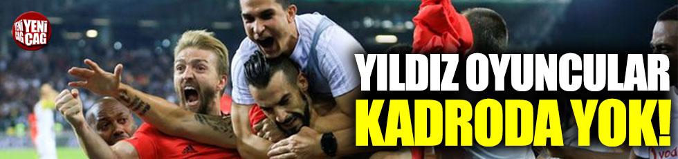 Beşiktaş, yıldız oyuncuları İstanbul'da bıraktı