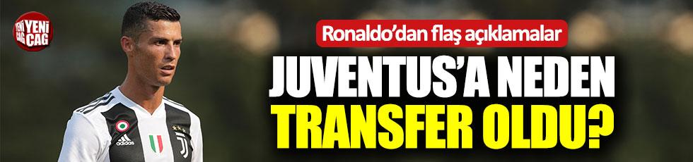 Ronaldo'dan transfer açıklaması