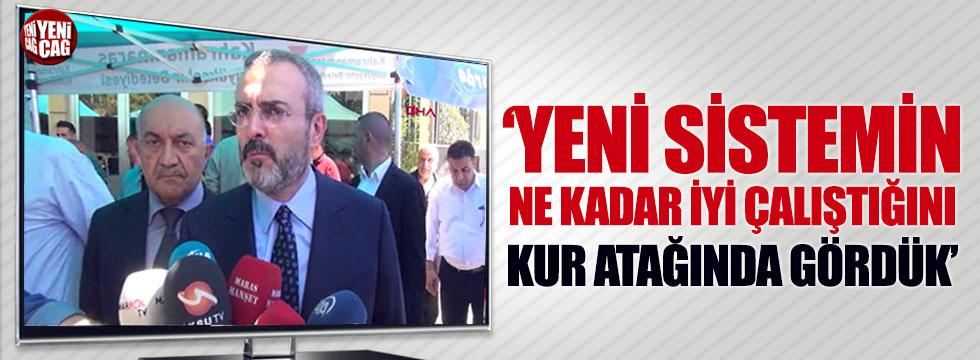 AKP'li Ünal: Yeni sistemin ne kadar iyi çalıştığını kur atağında gördük