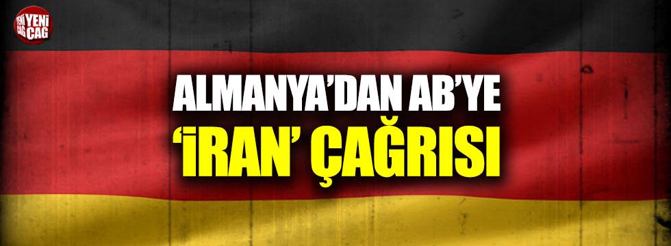 Almanya'dan AB'ye İran çağrısı