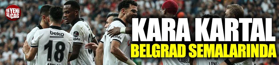 Beşiktaş, Sırbistanda avantaj peşinde