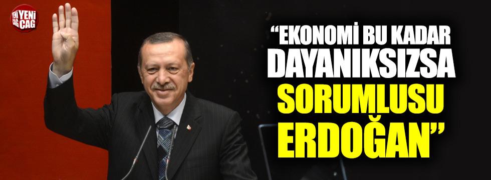 """CHP'li Öztrak: """"Ekonomi bu kadar dayanıksızsa, sorumlusu Erdoğan"""""""