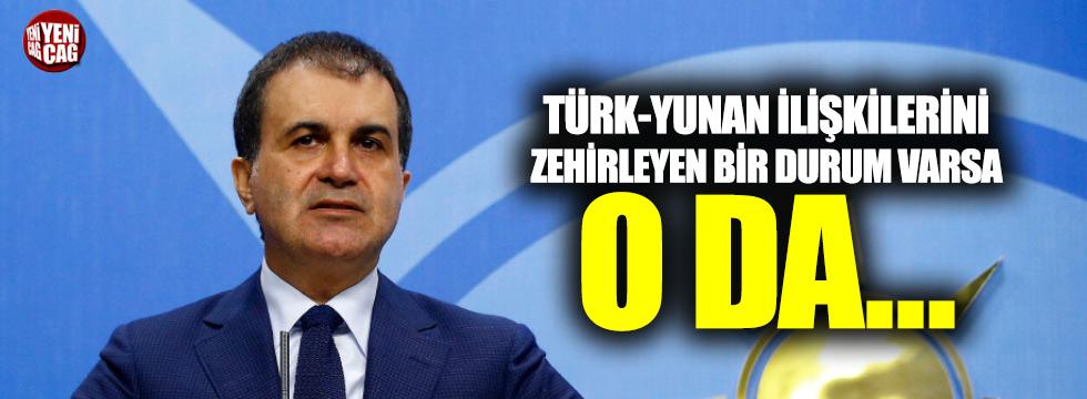 """AKP'den Yunanistan çıkışı: """"İlişkileri zehirleyen..."""""""