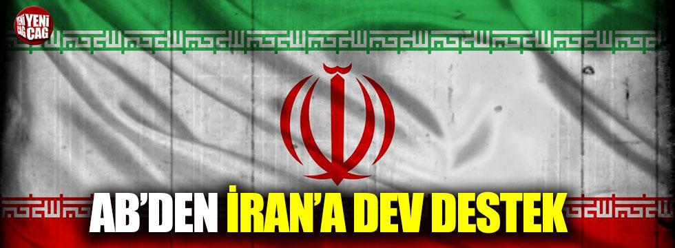 AB'den İran'a dev destek