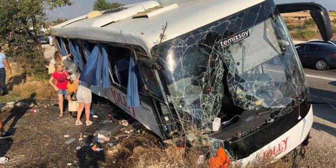 Muğla'da kaza: Çok sayıda yaralı var