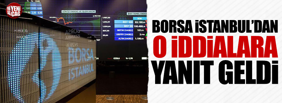 Borsa İstanbul'dan 'Kur farkıyla zengin oldu' iddialarına yanıt