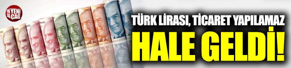 Türk Lirası, ticaret yapılamaz hale geldi!