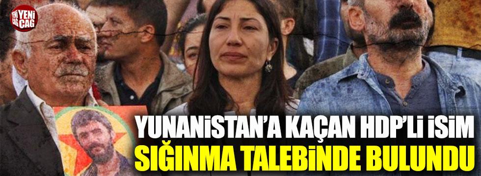 Yunanistan'a kaçan HDP'li Leyla Birlik'ten sığınma talebi