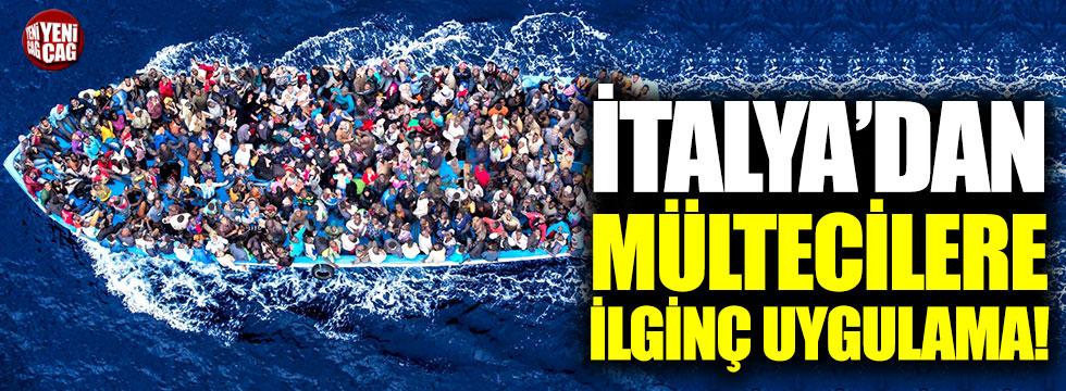İtalya'dan mültecilere ilginç uygulama!