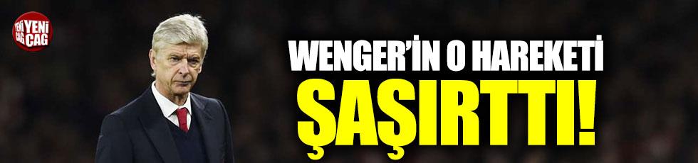 Wenger, maçlara koruma ile çıkıyormuş