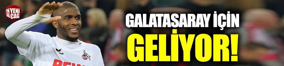 Galatasaray, Modeste'yi İstanbul'a getiriyor